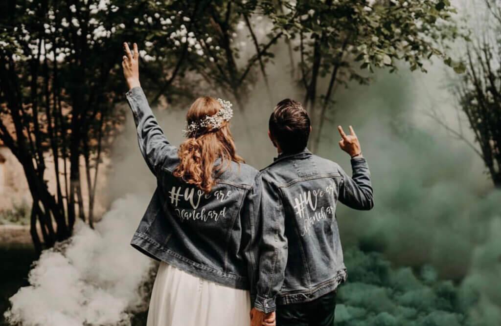 rock wedding theme